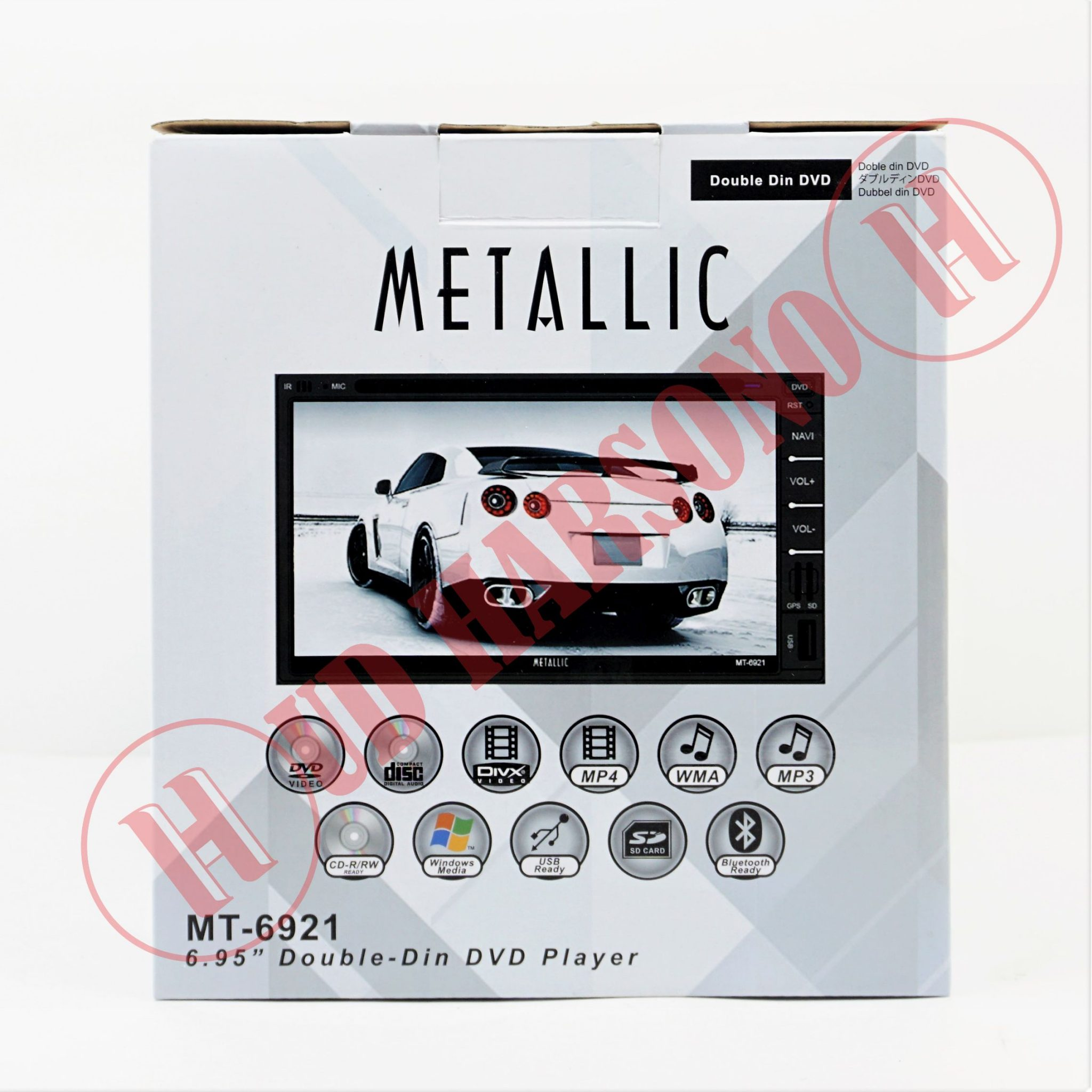 Metallic Double Din Mt 6921 Variasi Mobil Surabaya Head Unit Tape Sansui Hd Yokohama